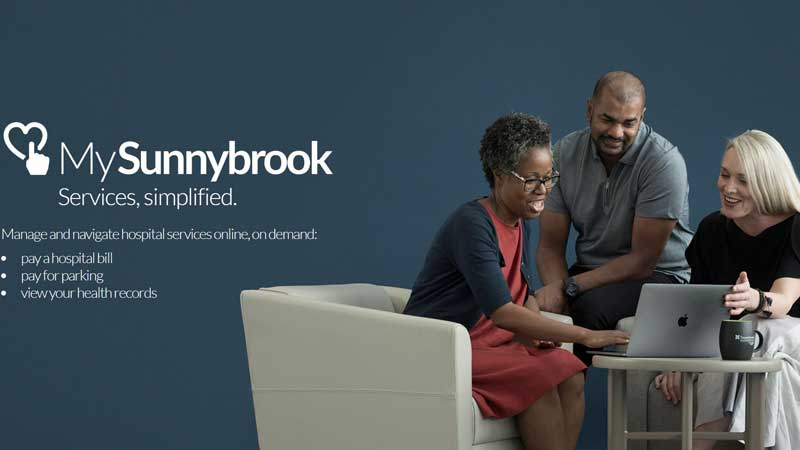 Sunnybrook Health Sciences Centre and Lumino Health connect patients to local health care providers
