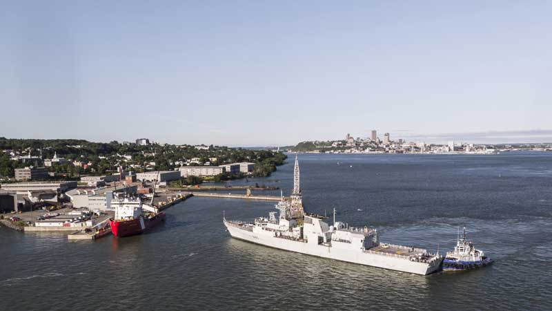 Davie makes history with return of Royal Canadian Navy frigates