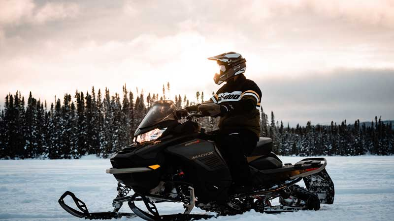 Maximize Your Wintertime Fun with the New Ski-Doo Model Lineup that Focuses on Awesome Handling, Power, and Agility
