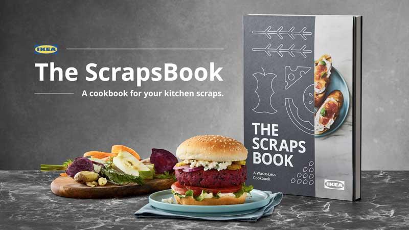 IKEA Canada uses food scraps as ingredients in their new cookbook