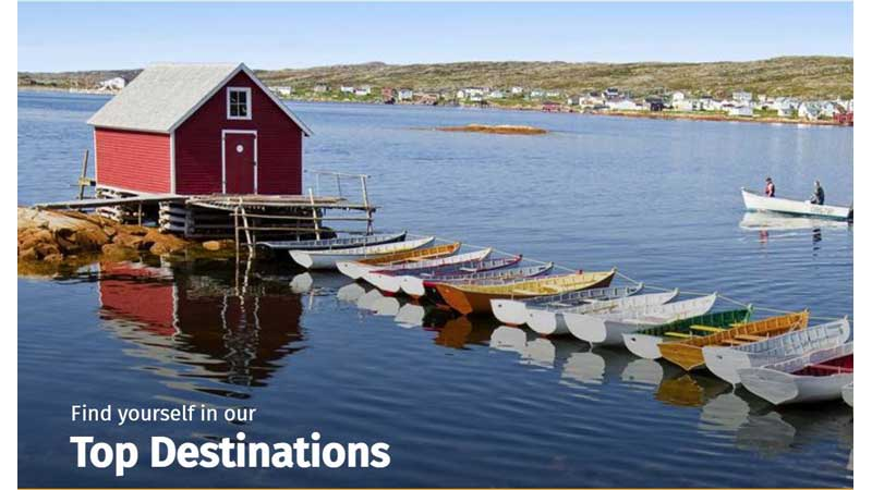 Newfoundland and Labrador Business Leaders Encourage Canadians to Explore Canada this Summer