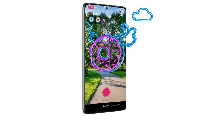Bell 5G and TikTok bring creators together with Paint Portal augmented reality effect