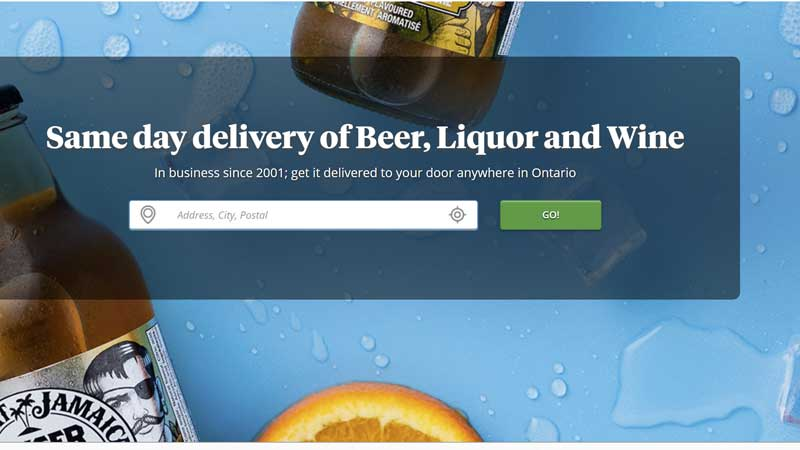 Ontario's Largest Alcohol Delivery Service Launches Rewards Program