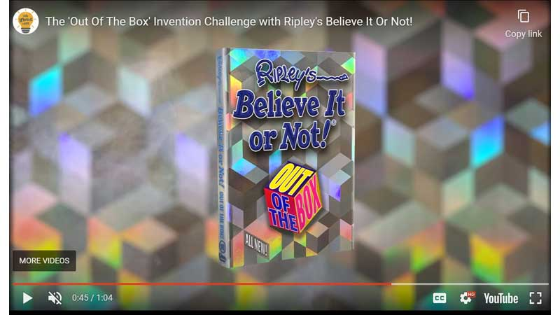 Ripley's Launches Worldwide Kids Invention Challenge